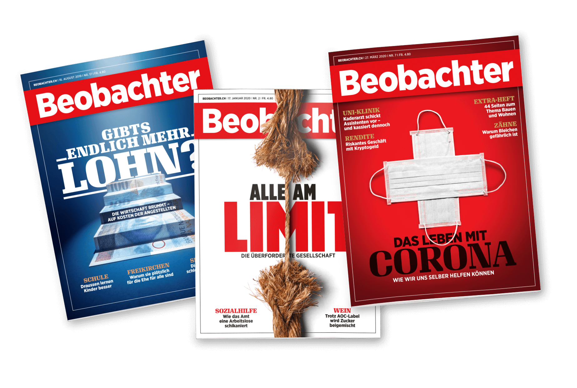 Beobachter 2021 /07 Cover