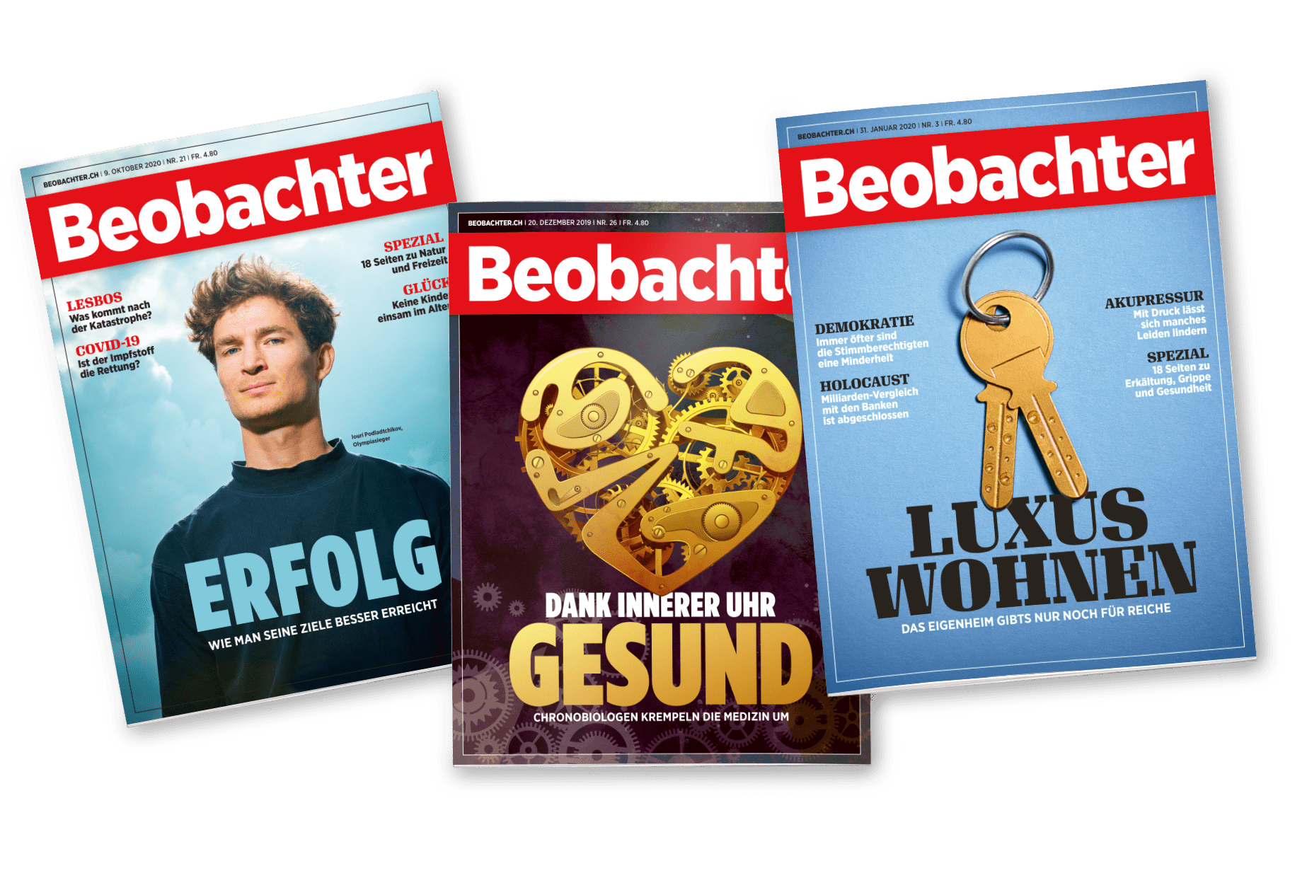 Beobachter 2021 /10 Cover